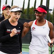 02/10/2019 - Women's Tennis v Cal Poly
