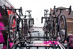 CANYON//SRAM Racing at the 112.8 km Le Samyn des Dames on March 1st 2017, from Quaregnon to Dour, Belgium. (Photo by Sean Robinson/Velofocus)