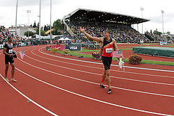 2012 USA Track & Field Olympic Trials: Wally Spearmon victory lap