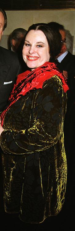 MRS SORAYA KHASHOGGI former wife of multi millionaire Adnam Khashoggi,  at a party in London on 21st April 1999.<br /> MRG 40 wo