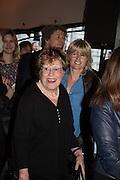Charlotte Johnson Wahl; Rachel Johnson; Opening of Photo London,  Somerset House. London. 20 May 2015