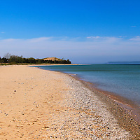 """""""Walk at Glen Haven""""<br /> <br /> Glen Haven at Sleeping Bear Dunes on a warm summer's day!<br /> <br /> The Great Lakes by Rachel Cohen"""