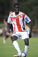 FOOTBALL - FRIENDLY GAMES 2010/2011 - GIRONDINS BORDEAUX v AC AJACCIO - 17/07/2010 - PHOTO JEAN MARIE HERVIO / DPPI - FOUSSENI DIAWARA (ACA)