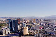 Las Vegas Cityscape as seen from the top of the Stratosphere Tower