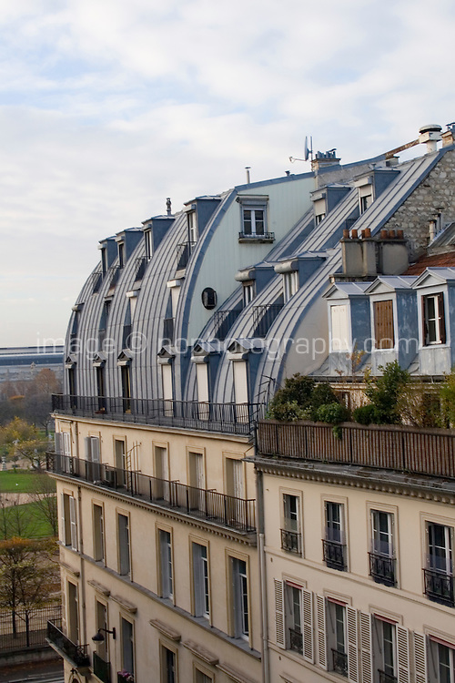 Rooftop in Paris France