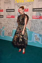 Arizona Muse at the Fabulous Fund Fair in aid of Natalia Vodianova's Naked Heart Foundation in association with Luisaviaroma held at The Round House, Camden, London England. 18 February 2019.