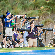 at Santa Ana College in Santa Ana, California on Saturday, Nov 8, 2014. CCCAA Football between Grossmont and Santa Ana.<br /> <br /> by Steven Ryan Behind the Scenes with the cast and crew of Sports Shooter Academy.