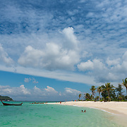 Koh Lipe beautiful beach panorama, Thailand