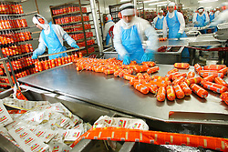 A unidade industrial da Perdigão em Marau (RS) é a primeira planta do setor de carnes do Brasil a adotar o Sistema de Gestão Integrada (SGI), fundamentado em normas internacionais que atestam excelência em três setores vitais da empresa: na qualidade dos processos de produção, no manejo dos recursos ambientais e na política de segurança e saúde no trabalho. FOTO: Jefferson Bernardes/ Agência Preview