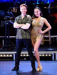 Neil Jones (left) and Katya Jones (right) attending the Strictly Come Dancing Professionals UK Tour at Elstree Studios, London.