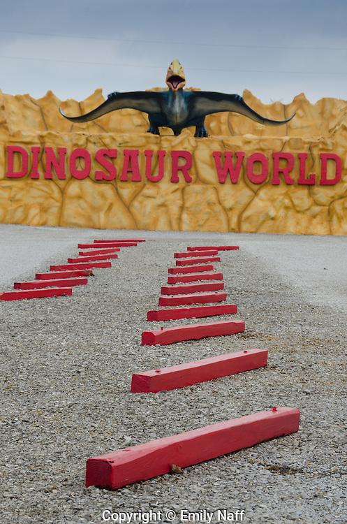 Entrance to Dinosaur World, Cave City, KY