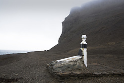 July 21, 2019 - Memorial Grave To Joseph René Bellot, French Arctic Explorer, Nunavut, Canada (Credit Image: © Richard Wear/Design Pics via ZUMA Wire)