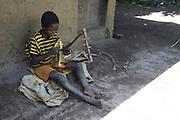 Africa, Ethiopia, Omo region, Ari Tribe child