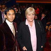 Premiere Holiday on Ice 2004, Wibi Soerjadi en Nelly Frijda