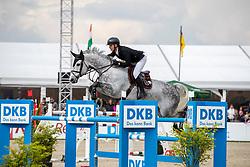 OPLATEK Andrzeij (POL), Stakkatan<br /> Hagen - Horses and Dreams 2019<br /> Großer Preis der Deutschen Kreditbank AG- BEMER RIDERS TOUR - Wertungsprüfung - CSI4* Grand Prix Two Rounds<br /> 28. April 2019<br /> © www.sportfotos-lafrentz.de/Stefan Lafrentz