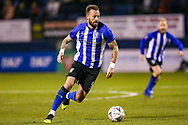 Sheffield Wednesday forward Steven Fletcher (9) on the ball during the The FA Cup 3rd round replay match between Luton Town and Sheffield Wednesday at Kenilworth Road, Luton, England on 15 January 2019.