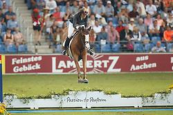 Cordon Pilar, (ESP), Gribouille du Lys<br /> Team completion and 2nd individual qualifier<br /> FEI European Championships - Aachen 2015<br /> © Hippo Foto - Dirk Caremans<br /> 20/08/15
