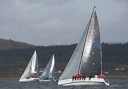 Day one of the Silvers Marine Scottish Series 2015, the largest sailing event in Scotland organised by the  Clyde Cruising Club<br /> Racing on Loch Fyne from 22rd-24th May 2015<br /> <br /> GBR8140C ,Zephyr, S Cowie/ I Marshall, CCC/FYC/RGYC ,First 40<br /> <br /> <br /> Credit : Marc Turner / CCC<br /> For further information contact<br /> Iain Hurrel<br /> Mobile : 07766 116451<br /> Email : info@marine.blast.com<br /> <br /> For a full list of Silvers Marine Scottish Series sponsors visit http://www.clyde.org/scottish-series/sponsors/