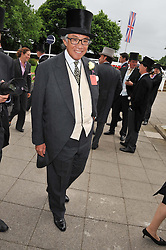 SIR DAVID TANG at the 2012 Investec sponsored Derby at Epsom Racecourse, Epsom, Surrey on 2nd June 2012.