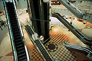 QATAR. Doha. City Centre. Escalators...The City Centre is one of the largest malls of the Gulf. During rush hour, the escalators become places of flirting..