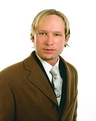 © Licensed to London News Pictures. 23/07/2011. Anders Breivik, 32, the man identified locally as the gunman who opened fire at a youth camp on an island outside Oslo, Norway. Breivik, 32, is said to have right-wing and anti-Muslim views. Photo credit : London News Pictures