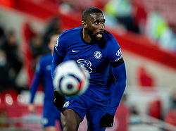 LIVERPOOL, ENGLAND - Thursday, March 4, 2021: Chelsea's Antonio Rüdiger during the FA Premier League match between Liverpool FC and Chelsea FC at Anfield. Chelsea won 1-0 condemning Liverpool to their fifth consecutive home defeat for the first time in the club's history. (Pic by David Rawcliffe/Propaganda)