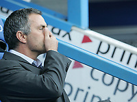 Photo: Lee Earle.<br /> Reading v Chelsea. The Barclays Premiership. 14/10/2006. Chelsea manager Jose Mourinho.