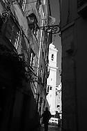 Portugal. Lisbon. Church in Alfama district / eglise dans le quartier de l'Alfama . Lisbonne