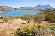 Embalse de Zahara reservoir Sierra de Grazalema, Cádiz Province, Andalusia, Zahara de la Sierra, Cadiz province, Spain