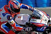 5th May 2018, Circuito de Jerez, Jerez, Spain; Spanish MotoGP, Saturday free practice and qualifying; Danilo Petrucci (Alma Pramac Racing) during free practice 3