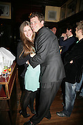 Hannah Galen and Jack Kidd, PJ's Annual Polo Party . Annual Pre-Polo party that celebrates the start of the 2007 Polo season.  PJ's Bar & Grill, 52 Fulham Road, London, SW3. 14 May 2007. <br /> -DO NOT ARCHIVE-© Copyright Photograph by Dafydd Jones. 248 Clapham Rd. London SW9 0PZ. Tel 0207 820 0771. www.dafjones.com.