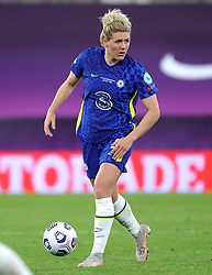 Chelsea's Millie Bright in action during the UEFA Women's Champions League final, at Gamla Ullevi, Gothenburg. Picture date: Sunday May 16, 2021.