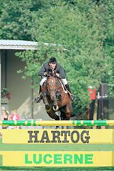 Dijkstra Marc-Velusinus R<br />KWPN Paardendagen 2001<br />Photo © Dirk Caremans