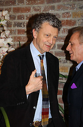 WILLIAM SHAWCROSS at a party to celebrate the publication of 'Last Voyage of The Valentina' by Santa Montefiore at Asprey, 169 New Bond Street, London W1 on 12th April 2005.<br /><br />NON EXCLUSIVE - WORLD RIGHTS