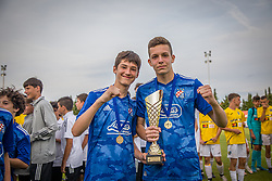 1st. place: NK Dinamo Zagreb during medal ceremony of the Ljubljana Open Cup 2021. , on 12.06.2021 in ZAK Stadium, Ljubljana, Slovenia. Photo by Urban Meglič / Sportida
