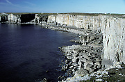 Limestone Cliffs, Pembrokeshire, South West Wales, UK, Heritage Coastline, Limestone Cliffs, beach, sea