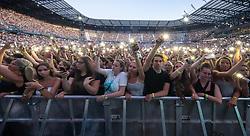 28.06.2019, Wörthersee Stadion, Klagenfurt, AUT, Ed Sheeran Konzert, anlässlich eines Konzert am Freitag, 28. Juni 2019, im Wörthersee Stadion in Klagenfurt, im Bild Fans // Suzpporter during a concert of Ed Sheeran at the Wörthersee Stadion in Klagenfurt, Austria on 2019/06/28. EXPA Pictures © 2019, PhotoCredit: EXPA/ Johann Groder