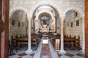 Israel, Kafr Kanna in the Lower Galilee The <br /> Catholic Wedding church