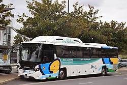 Bus running on 100% natural gas, Bourges, Centre-Val de Loire, France 2021