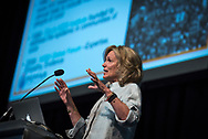 21st International AIDS Conference (AIDS 2016), Durban, South Africa.<br /> Photo shows Ambassador Deborah Birx, US Global AIDS Coordinator & US Special Representative for Global Health Diplomacy, speaking at the PEPFAR Annual Meeting.<br /> Photo © Steve Forrest/Workers' Photos