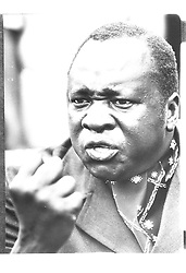 19/12/1972 - On this Day in History - Ugandan Dictator, Idi Amin, Gives British workers in Uganda an ultimatum to either accept a 40% reduction in pay or get out of the country. This was seen as an overtly hostile action against British interests in the country.  Uganda's Idi Amin in a typically aggressive mood in this 1975 picture.  Tanzanian troops were advancing on Jinja, where toppled dictator Amin is believed to be preparing to make his last stand.  * 16/8/03:  Idi Amin, the ruthless former dictator of Uganda and one-time darling of the British army died. Amin, who was responsible for the deaths of hundreds of thousands of his countrymen in the 70s, had been on a life-support machine since July 18. Amin was 80, Ugandan officials said, although other sources had him born in 1925.