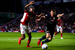 Joe Aribo of Charlton Athletic takes on Andrew Butler of Doncaster Rovers - Mandatory by-line: Robbie Stephenson/JMP - 17/05/2019 - FOOTBALL - The Valley - Charlton, London, England - Charlton Athletic v Doncaster Rovers - Sky Bet League One Play-off Semi-Final 2nd Leg