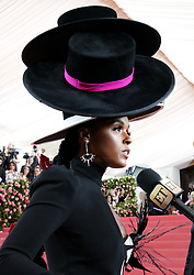 Janelle Monae attending the Metropolitan Museum of Art Costume Institute Benefit Gala 2019 in New York, USA.