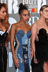 Little Mix's Leigh-Anne Pinnock attending the BRIT Awards 2017, held at The O2 Arena, in London.<br /><br />Picture date Tuesday February 22, 2017. Picture credit should read Doug Peters/ EMPICS Entertainment. Editorial Use Only - No Merchandise.