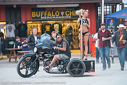 The Buffalo Chip during the annual Sturgis Black Hills Motorcycle Rally. Sturgis, SD, USA. Wednesday August 9, 2017. Photography ©2017 Michael Lichter.