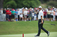 Adam Scott in action during the second round of the Australian Open at The Australian Golf Club, Sydney (Photo: Anthony Powter)