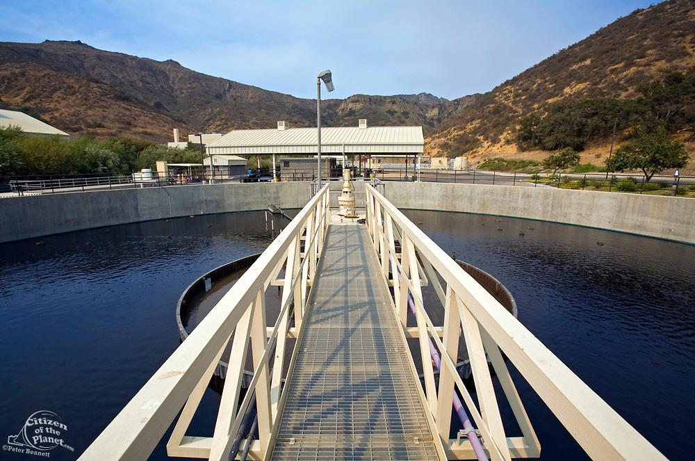 Secondary Clarifier, Hill Canyon Wastewater Treatment Plant, Camarillo, Ventura County, California, USA