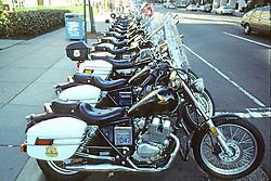 Police Harleys