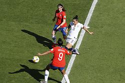 USA's Ali Krieger during the FIFA Women soccer World Cup 2019 Group F match, USA vs Chile at Parc des Princes, Paris, France on June 16th, 2019. USA won 3-0. Photo by Henri Szwarc/ABACAPRESS.COM