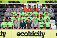 Forest Green Rovers 1st team squad photo 2018/19 with sponsor Lansdown Clinic during the 2018/19 official team photocall for Forest Green Rovers at the New Lawn, Forest Green, United Kingdom on 30 July 2018. Picture by Shane Healey.